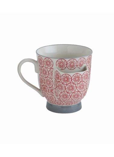 Warm Design Çay Poşeti Tutuculu Porselen Bardak Renkli